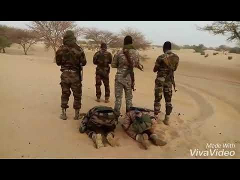 Nigerian | Niger Army at Desert of Sambia fighting of Boko Haram