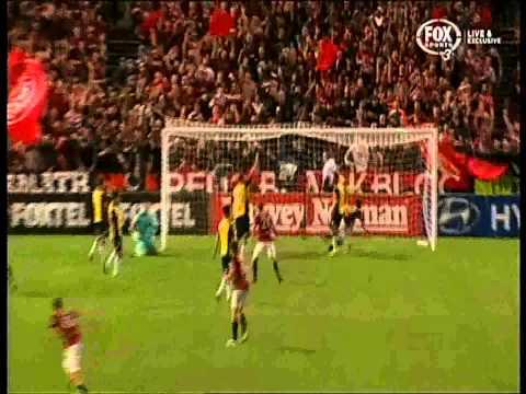 Youssouf Hersi Goal Western Sydney Wanderers Vs Central Coast Mariners