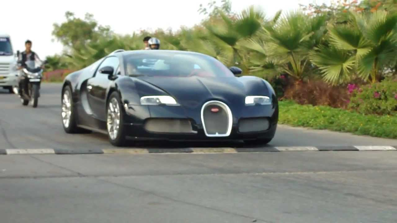 Bugatti Veyron In Hyderabad India Part 1 Youtube