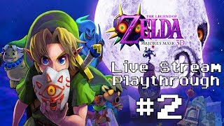 The Legend of Zelda: Majora's Mask 3D - Live Stream Playthrough #2