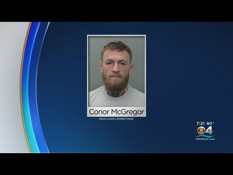 Police Arrest MMA Star Conor McGregor For Slapping Fan's Phone, Stomping On It
