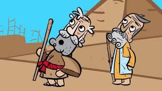 Исход из Египта - Первая ПАСХА - Христианские мультфильмы - Пасха 2021