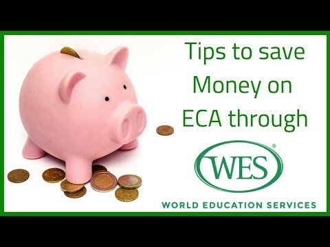 🇨🇦 Tips To Save Money On ECA From WES