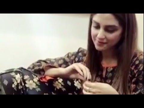 Maya Ali - Chaana Mereya Hit Song  What a beautiful voice HD  Jibran Raheel   Aye dil ha Mushkil2018