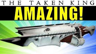 Destiny: Qullim's Terminus is AMAZING! | King's Fall Raid Machine Gun | Taken King