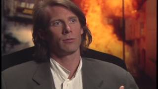Michael Bay Talks With Jimmy Carter - The Rock