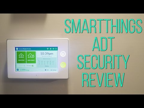 Smartthings ADT Home Security - The Best Priced Smart Home Security System