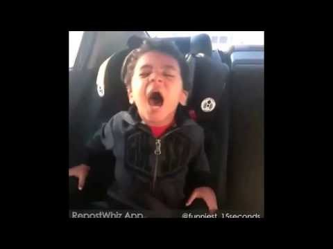 Little Boy Singing His Heart Out. -Drunk In Love- -Beyonce Ft. Jay Z