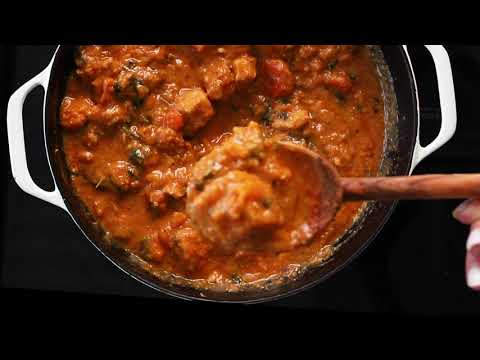 AFRICAN PEANUT STEW (slow cooker and instant pot options)