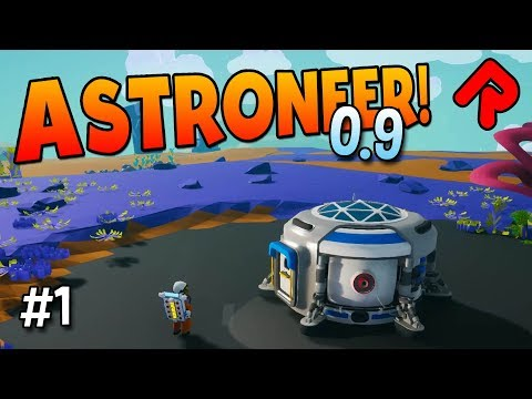 ASTRONEER 0.9.0 adds NEW WRECKS to discover! | ASTRONEER 0.9 gameplay ep 1