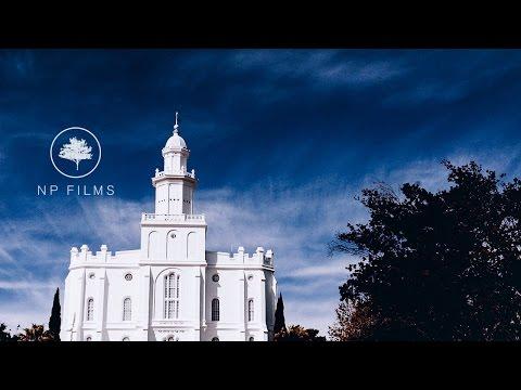 Jessica and Jordan   Utah Wedding Video   St George Temple