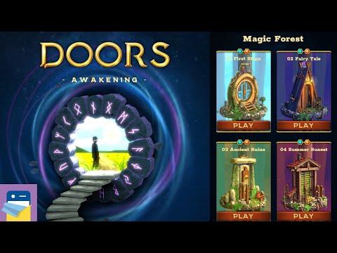 Doors: Awakening - Chapter 1 Magic Forest, Levels 1 2 3 4 Walkthrough (by Snapbreak / Bigloop)