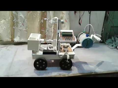 ANEKANT Automatic System makes AUTOMATED SEED SOWING & SPRAYING ROBOT.
