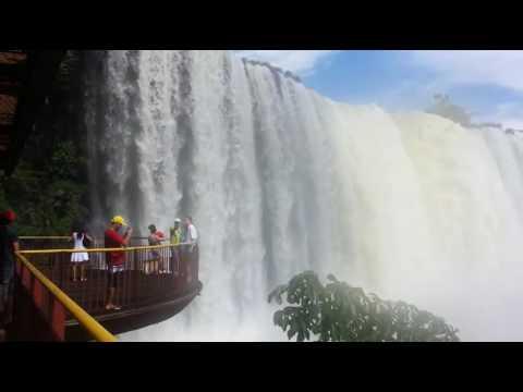 WaterFall | Iguasu Falls in Brazil | Travel World