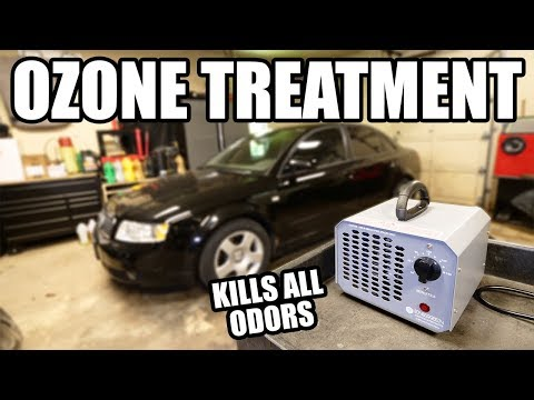 How to Eliminate ALL ODORS with an Ozone Machine