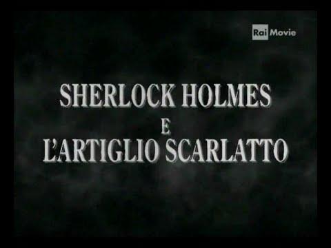 Sherlock Holmes L'artiglio scarlatto - 1944  Basil Rathbone completo italiano