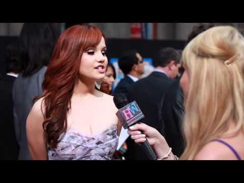"Debby Ryan talks new hair + new Disney series ""Jessie"""
