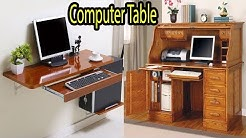 Computer Table Design Ideas For Office & Home | Wooden Table For Computer