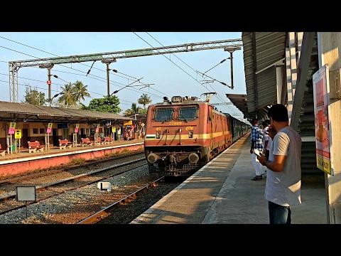 Vigilant WAP4 Kerala Express alerts attacks Chalakudy