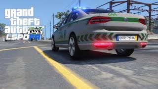 GTA 5 LSPDFR Ep 3 Volkswagen Passat da GNR