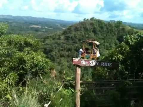 Cable Car @ Danao Adventure Park Bohol