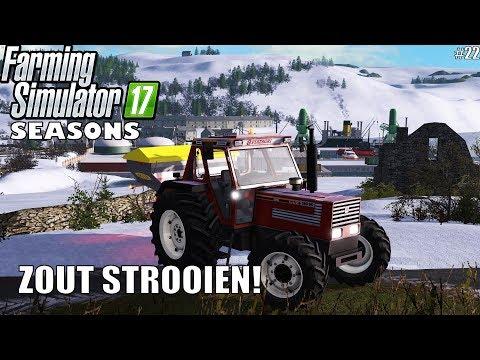 'ZOUT STROOIEN!' Farming Simulator 17 Seasons Shamrock Valley #22 thumbnail
