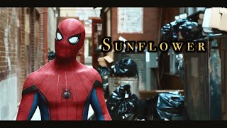 ????️【蜘蛛人➖新宇宙】電影主題曲????《Sunflower向日葵》   蜘蛛人-返校日電影片段剪輯MV   【中文字幕】????• by Post Maloneu0026Swae Lee (Spider Man)