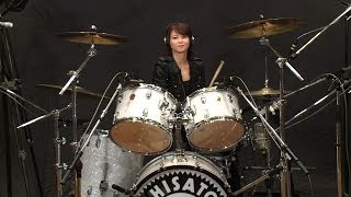 CHISATO MORITAKA : Drums on