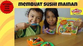 MAINAN ANAK ♥ FUN DOH SUSHI SET | KIDS TOYS