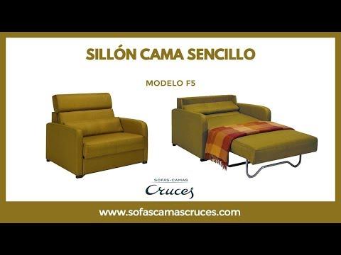 Muebles convertibles en cama horizontales para casas pe for Sillon cama usado