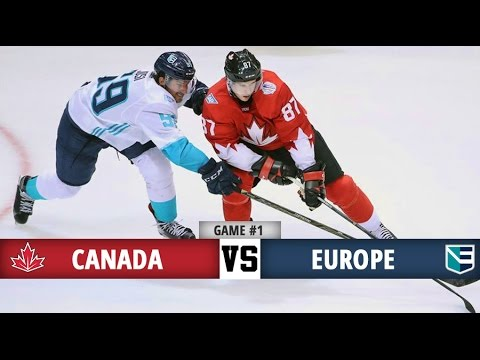 Canada vs Europe | World Cup of Hockey Final | Game #1 Highlights (27/9/16)
