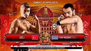 Colosseum II 2016 Ozlu (Turkey) vs Papadimitriou (Greece) Budo Gym ...