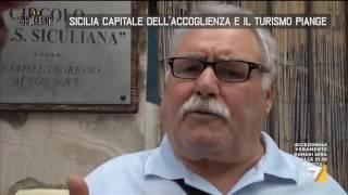 Sicilia capitale dell'accoglienza e il turismo piange