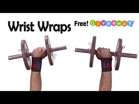 Do wrist wraps help ? Giveaway! WinWristWraps.info