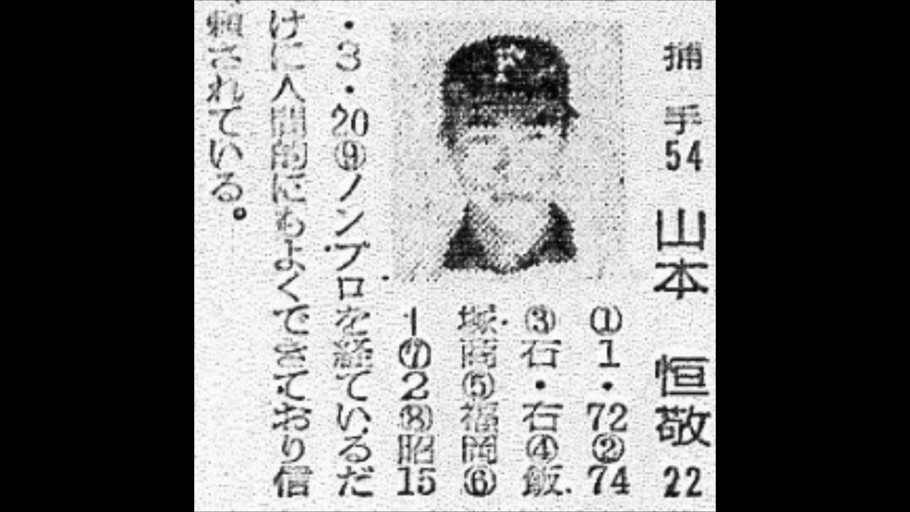 1962年 東映フライヤーズ 選手名...