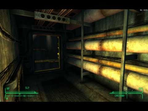 Fallout NV Dead Money Walkthrough, Part 40: Down The Elevator To The Vault! (1080p HD Gameplay)