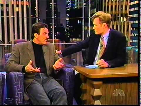 Tom Selleck on Conan (1998-02-17)