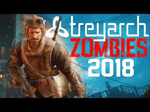TREYARCH HINTS AT NEXT ZOMBIES GAME - COD ZOMBIES 2018! FROM JASON BLUNDELL AND ACTIVISION!