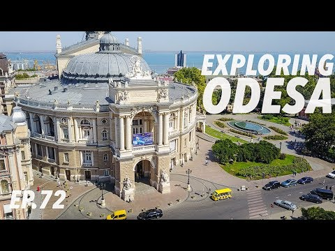 BACK HOME IN UKRAINE! 🇺🇦 Exploring Odessa (drone footage)