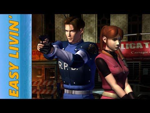 Easy Livin' - Resident Evil 2 - Leon B Full Playthrough