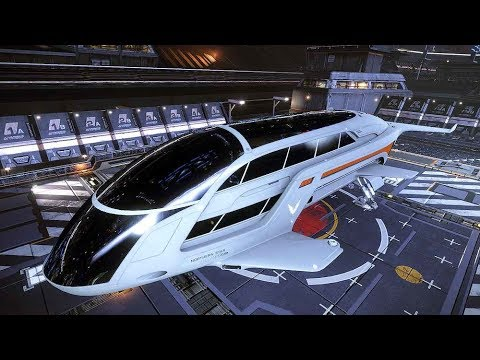 Elite Dangerous: Relaxing [Dolphin] Passenger & Cargo Transportation - Gameplay