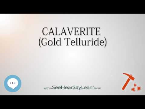 CALAVERITEGold Telluride