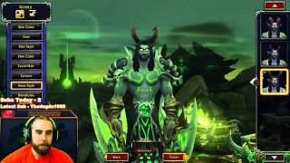 Bajheera - Demon Hunter Character Creation! :D - WoW Legion Alpha