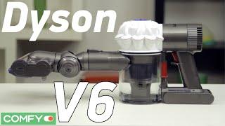 Dyson V6 - мощный ручной пылесос с турбощеткой - Видеодемонстрация от Comfy.ua(, 2015-12-03T16:06:05.000Z)