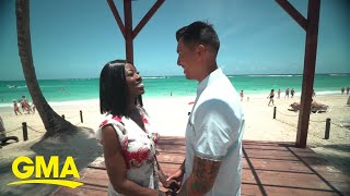 Jessica Mulroney designs beach wedding for lucky couple | GMA