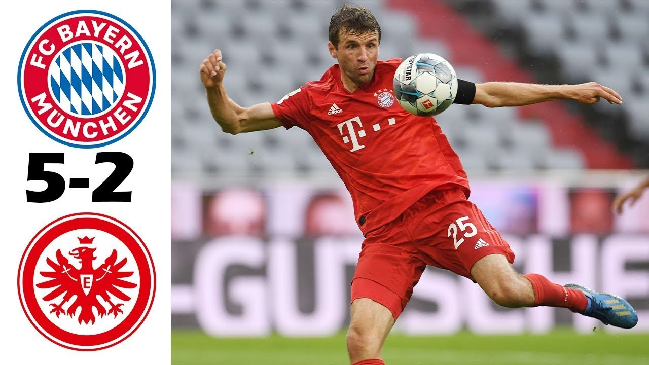 FULL HD: Bayern Munich vs Eintracht Frankfurt 5-2| all ...