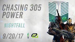 Destiny 2: GRINDING FOR 305 POWER