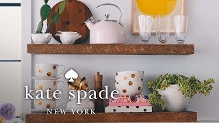 How To Decorate A Small Kitchen | Make Yourself A Home | Kate Spade New York