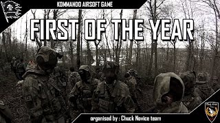 KOMMANDO AIRSOFT GAME – CNT – First of the year [ENG SUB]