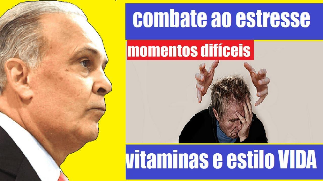 VITAMINAS QUE O ESTRESSE DERRUBA , COMBATA O ESTRESSE NESSE MOMENTO DIFÍCIL | DR. LAIR RIBEIRO